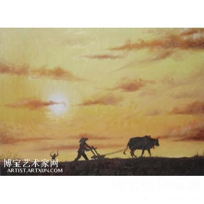 名家 孙格宁 油画; - 孙格宁 天下粮仓. 类别: 风景油画